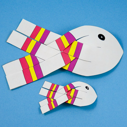 How to make paper fish 3d - Easy Paper Craft | 440x440