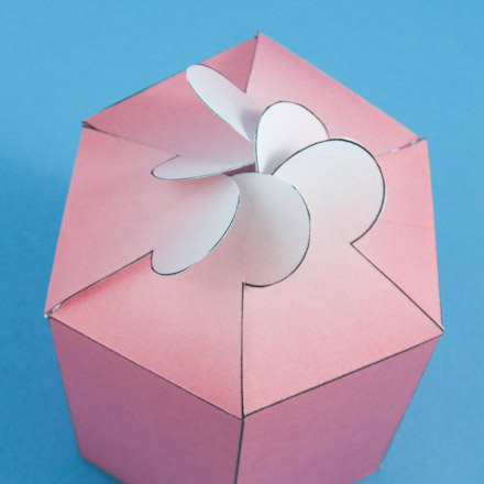 DIY RECTANGULAR ORIGAMI GIFT BOXES. — Gathering Beauty | 440x440