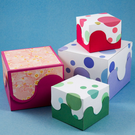 How to make a rectangular box pattern boxes and bags for Craft box for toddlers