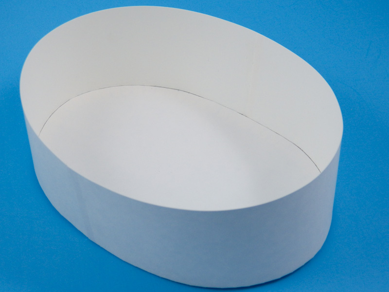 How To Make An Oval Box In Any Size