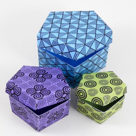 Jewellery Box Pentagons