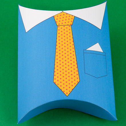 large recycled colours paper boxes pillow