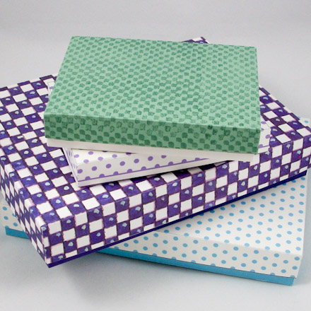 magic boxes: Origami Box with Wrap Lid - Tutorial | 440x440