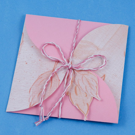 How to Make Square Petal Envelopes - Boxes and Bags - Aunt Annie's ...