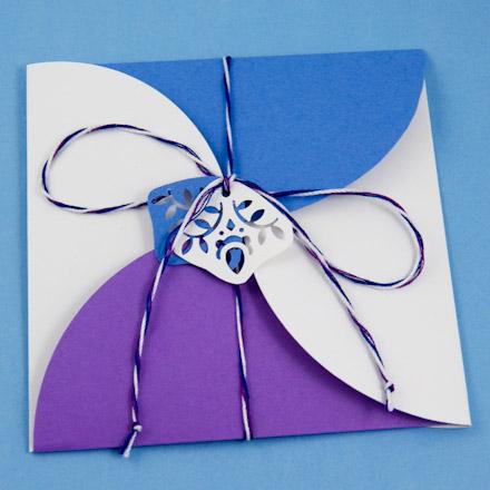 آموزش تصویری ساخت پاکت نامه