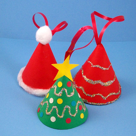 How to make a miniature christmas tree ornament for Small christmas tree ornaments to make