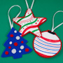 Coookie Cutter Felt Ornaments
