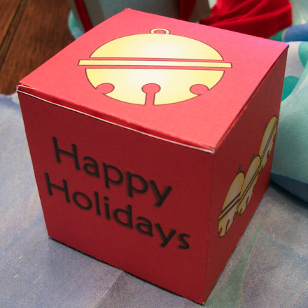 How to Make Little Gift Boxes - Christmas Crafts - Aunt ...