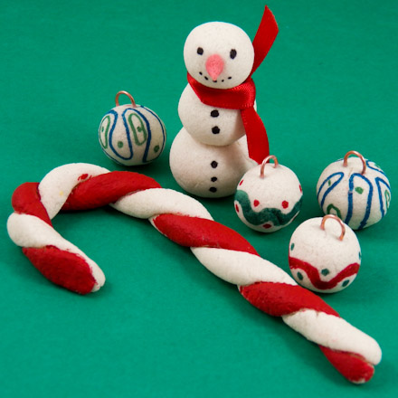 Make Clay Christmas Ornaments Magnets And Figurines Friday Fun