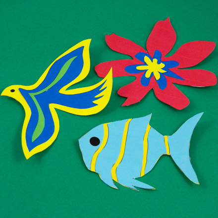 Simple Paper Cutting Techniques Decorative Crafts Aunt Annie S