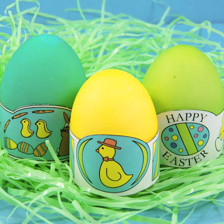 Basic Egg Dyeing Instructions Easter And Spring Crafts Aunt