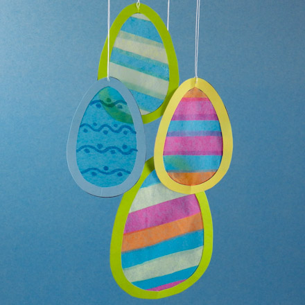 How To Make Egg And Bunny Suncatchers Easter And Spring Crafts