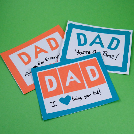 make simple father s day cards father s day crafts aunt annie s