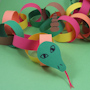 Circly Paper Chain Snake