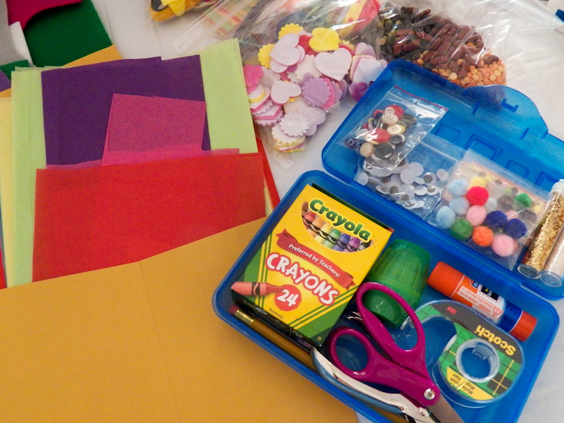 How To Make A Children S Craft Box Friday Fun Craft Projects