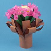 Simple Folded Bouquet