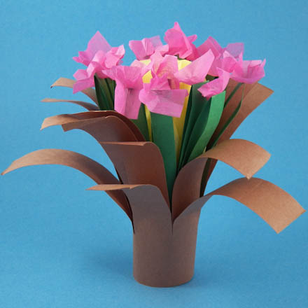 Make A Simple Folded Bouquet Friday Fun Craft Projects Aunt