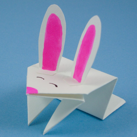 old] Easter Origami Instructions: Rabbit (Jun Maekawa) - YouTube | 440x440