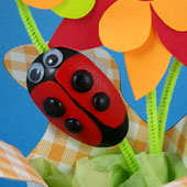 Attach love bugs to flowers and give as a gift