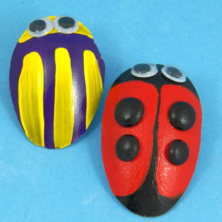 How To Make Love Bug Pins Valentine S Day Crafts Aunt