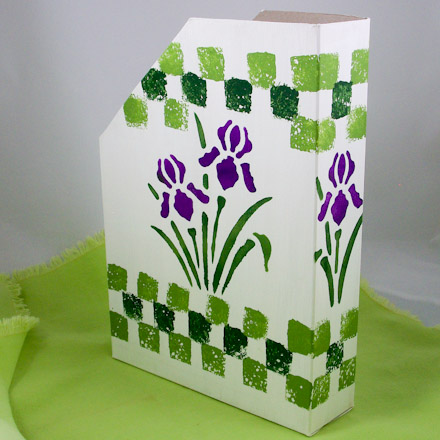 How To Make Magazine Holders Friday Fun Craft Projects Aunt