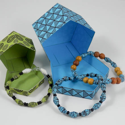 Make Shiny Recycled Paper Beads Friday Fun Craft Projects Aunt