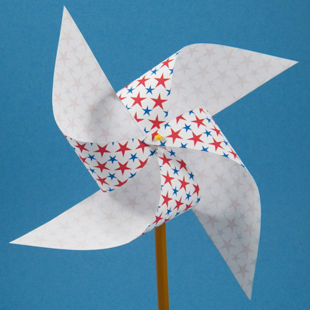 How To Make An Easy Pinwheel Friday Fun Craft Projects Aunt