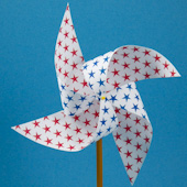 Easy Pinwheel craft project