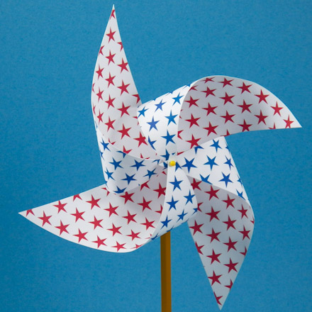 How to Make an Easy PinwheelFriday Fun Craft ProjectsAunt
