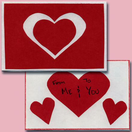 Easy Valentine Cards for Kids to Make  Valentines Day Crafts