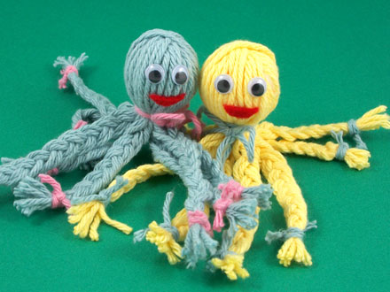 How To Make A Yarn Octopus Friday Fun Craft Projects Aunt