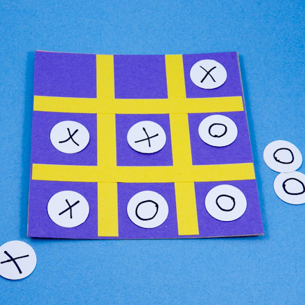 How To Make A Tic Tac Toe Travel Game Games To Make Aunt Annies