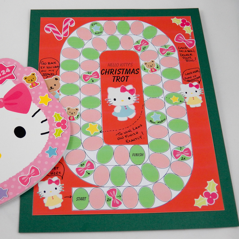 Make a Turkey Trot Board Game - Games to Make - Aunt Annie's Crafts