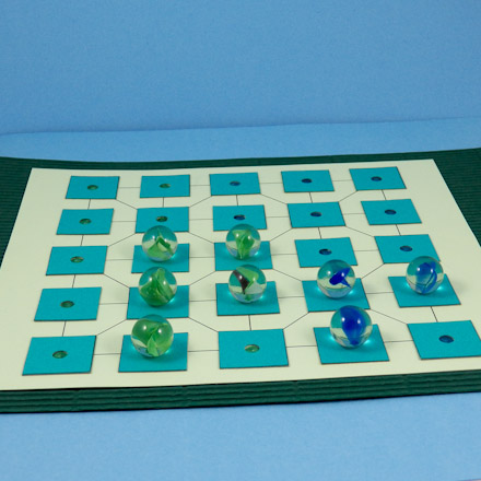 how to make a paper game board
