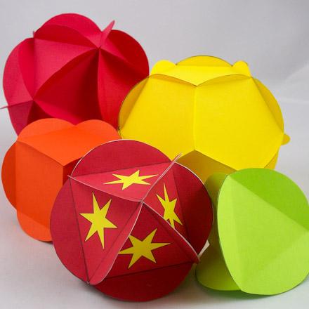 3d origami platonic solids   free iphone & ipad app market.