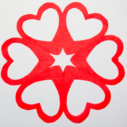 Valentine Heart Snowflake Patterns - Symmetry in Snowflakes - Aunt ...