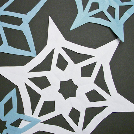 Symmetry In Snowflakes Geometric Toys To Make Aunt Annie's Crafts Stunning Snowflake Cutting Patterns