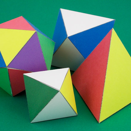 How to Make Geometric Solids - Geometric Toys to Make - Aunt Annie's ...