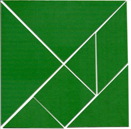 How To Make Tangram Puzzles Geometric Toys To Make