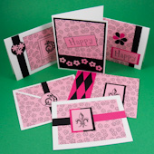 Card set for invitations