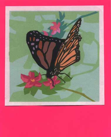 Black And White Butterfly Clipart. Butterfly clip-art - magenta