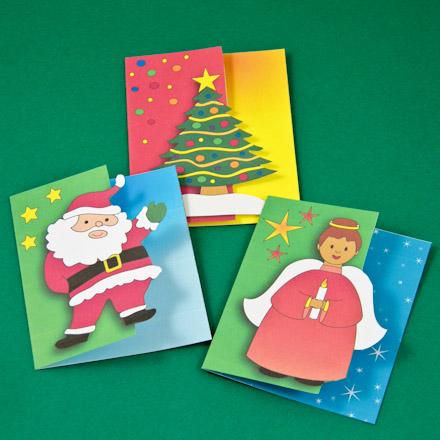 Card making idea cutout edge card tutorial greeting card class 2 cutout edge christmas gift tags m4hsunfo