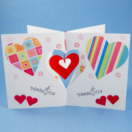 Card making idea dangler card tutorial greeting card class 2 tip make different m4hsunfo