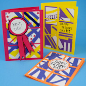 Kids' Serendipity Square Father's Day Cards