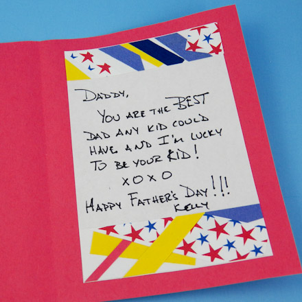 Kids Serendipity Square Father S Day Cards Cards For Kids To Make