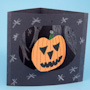 Kids' Halloween Spook House Dangler Cards