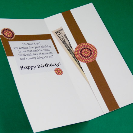 Make A Card With A Money Pocket Greeting Card Ideas Aunt Annies