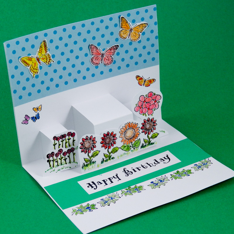 Step pop up cards greeting card ideas aunt annies crafts make step pop up cards m4hsunfo