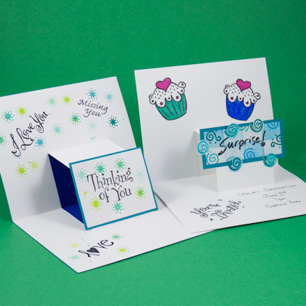 Step Pop Up Cards Greeting Card Ideas Aunt Annies Crafts