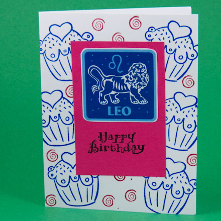 Make a Zodiac Birthday Card Greeting Card Ideas Aunt Annies – Birthday Card with Pictures